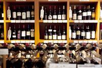 ワインショップの様子