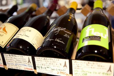 デリケートなワインの扱いにこだわります