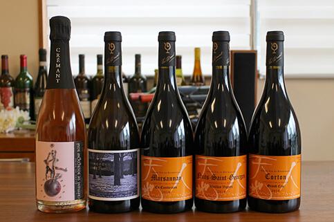 春の銘醸ワインを味わう会 -ブルゴーニュの人気生産者・仲田晃司さんの新作ワインを飲み比べる-