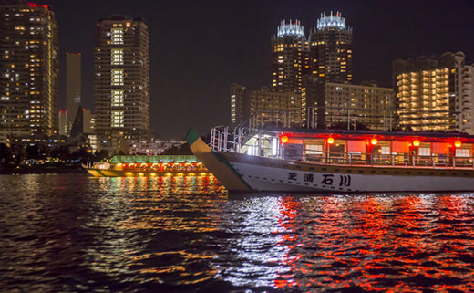 2019年 屋形船ワインパーティー ~ワインで楽しむ水上からの夜景めぐり~